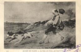 D 3363 - Musée De Dijon  Tableau De   Lepoitevin   Le Valet De Chiens   N° 127 - Museen