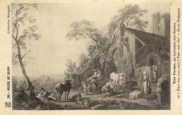 D 3367 - Musée De Dijon   Tableau De Jean - Baptiste Lallemand    Une Ferme    N° 201 - Museen