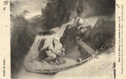 D 3368 - Musée De Dijon   Tableau De Dauphin François - Gustave   Chute D'un Bateau à La Cascade De Terni   N° 184 - Museen