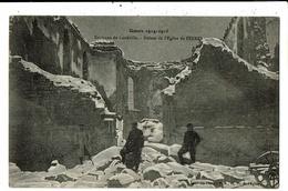 CPA-Carte Postale  France-Lunéville- Ruines De L'église De Serres 1914-1915  VM11817 - Luneville