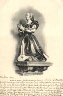 D 3369 - Musée De Dijon   Statue De Anne De Fontette - Museen