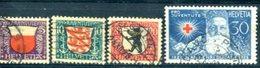 SUISSE : Y&T (o) N°231 à 234 (à 10% De La Cote) - Svizzera