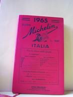 "GUIDE MICHELIN 1965. ITALIE.   100-9067""a"" - Tourisme, Voyages"