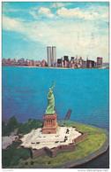 NEW YORK -The Word  Famous Statue !!!  ( état , Voir Verso ) - World Trade Center