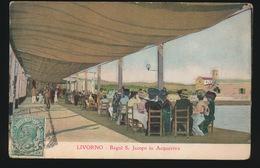LIVORNO  BAGNI S JACOPO IN ACQUAVIVA - Livorno