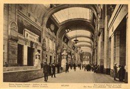 Milano - Fotografia Antica NUOVA STAZIONE CENTRALE, Animata (con Testo In Varie Lingue) - OTTIMA N4 - Luoghi