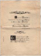 VP16.749 - PARIS 1885 - Faire - Part De Mariage De Mr Léon TERRIER Avec Melle Jeanne BOUDIN - Mariage