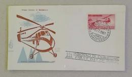 FDC Posta Aerea L.1000 Elicottero - 06/07/1961 - FDC