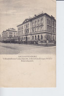 Ak Aschaffenburg, Volksschulhäuser Luitpoldstraße, 1916 - Aschaffenburg