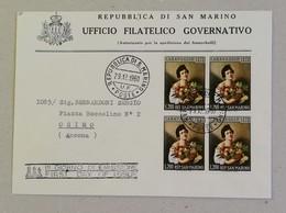 FDC L.200 Caravaggio, Busta Ufficio Filatelico Governativo Per Osimo - 29/12/1960 - FDC
