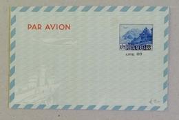 Aerogramma L.80 Sovrastampato Su L.55 - 06/09/1951 - Covers & Documents