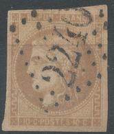 Lot N°52480  N°43B Bistre Brun, Oblit GC 2240 Marseille, Bouches-du-Rhone (12) - 1870 Uitgave Van Bordeaux