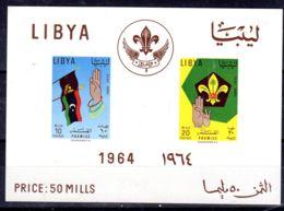 24.7.1964; LIBYE - Scouts;  YT BF 7,  Neuf **. Lot 52251 - Neufs