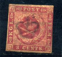 Antillas (danesas) Nº 1. Año 1855/67. - Danimarca (Antille)