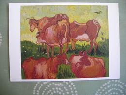 CPM Vincent Van Gogh, Les Vaches - Pittura & Quadri