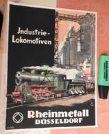 Industrie Lokomotiven : Rheinmetall Düsseldorf - Dess KG - N°362 - Années 50 - Locomotive - Transports