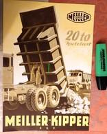 Meiller-Kipper : Benne - Munich - 1954 - Transports