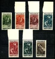 Sarre Nº 132/8 Nuevo. Cat.153€ - Unused Stamps