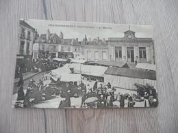 CPA 37 Indre Et Loire Chateaurenault Le Marché - Andere Gemeenten