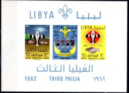 13.7.1962; LIBYE - Scouts;  YT BF 4,  Neuf **. Lot 52246 - Neufs