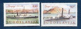 Yougoslavie - YT N° 1699 Et 1700 - Neuf Sans Charnière - 1979 - Nuevos