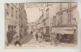 Lot 21121925 CPA THORIGNY SUR MARNE (Seine Et Marne) - Rue Du Pont De Fer - Autres Communes