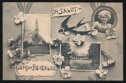 UN SALUT DU CAMP DE BEVERLOO - Leopoldsburg (Kamp Van Beverloo)