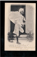 INDIA A Dhobie 1905 Old Postcard - Indien