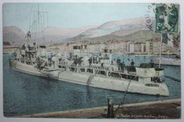 BATEAUX - TOULON Le Contre-torpilleur DARD - Warships