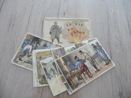 Gabard Guerre De 14/8 20 CPA Vierges + Pochette Carnet La Vie Au Front - Patriotic
