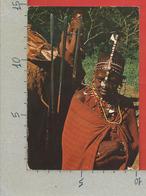 CARTOLINA VG KENIA - Tribe Of Kenya - Masai - 10 X 15 - 19?? - Kenia