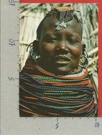 CARTOLINA VG KENIA - Tribe Of Kenya - Turkana Girls - 10 X 15 - 1980 - Kenia