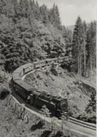 AK 0412  Dampfeisenbahn / Ostalgie , DDR Um 1968 - Trains