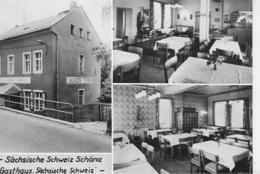 """AK 0412  Schöna - Gasthaus """" Sächsische Schweiz """" / Ostalgie , DDR Um 1984 - Schöna"""