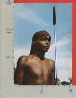 CARTOLINA VG KENIA - Tribes Of Kenya - Samburu Warrior - 10 X 15 - 1967 - Kenia