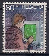 YT N° 1335 - Oblitéré - PRO JUVENTUTE 1989 - Pro Juventute