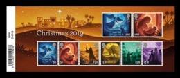 Great Britain 2019 Mih. 4474/81 (Bl.129) Christmas MNH ** - 1952-.... (Elizabeth II)