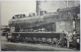 LOCOMOTIVES DU SUD-OUEST Machine 6023 - Trains