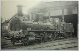 LOCOMOTIVES DU SUD-OUEST Machine 040-162 - Trains