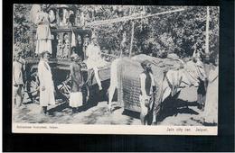 INDIA Jain City Car, Jaipur Ca 1910 Old Postcard - Indien
