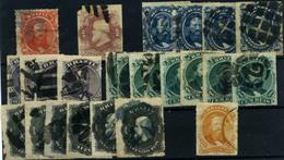 Brasil Nº 30/36. Año 1876/77. - Brazilië