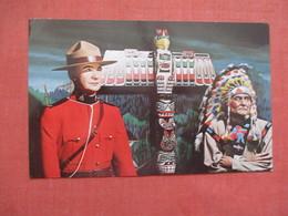 Royal Canadian Mounted Policeman & Indian >  Ref 3846 - Indiaans (Noord-Amerikaans)