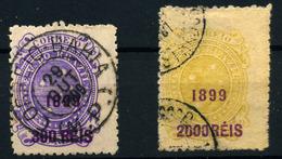 Brasil Nº 107, 111. Año 1899. - Brazilië
