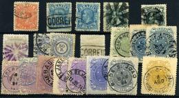 Brasil Nº 52/4, 58, 60, 62, 69/72, 75. Año 1882/93. - Brazilië