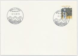 SK43 - LITTAU (800 JAHRE LITTAU) - Luzern - Auf Neutraler Karte - Poststempel
