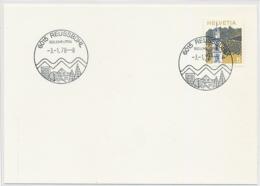 SK44 - REUSSBÜHL (800 JAHRE LITTAU) - Luzern - Auf Neutraler Karte - Poststempel