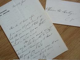 Georges LAGUERRE (1858-1912) Boulangiste. Avocat ANARCHISTE Louise MICHEL, Emile POUGET... - AUTOGRAPHE - Autografi
