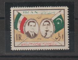 Iran 1956 Visite Président Pakistan 870  1 Val ** MNH - Iran