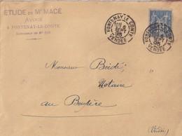 85 - VENDEE - FONTENAY LE COMTE  TàD De TYPE A2 De 1890/97 - Marcophilie (Lettres)