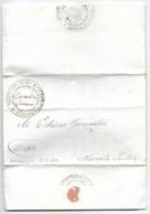 REPUBBLICA ROMANA - DA PIAN DI MELETO A MACERATA FELTRIA - 17.3.1849 - MOLTO RARA. - ...-1850 Voorfilatelie
